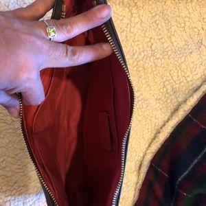 Coach purse NWT Salmon and Brown!